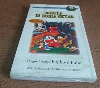 harga Komik doraemon movie nobita di dunia setan Tokopedia.com