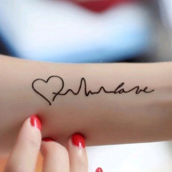 Jual Tato Tatto Temporary Tatto Kecil Tatto Tulisan 10 5x6 Cm X 419 Kota Makassar Creativetatto Tokopedia