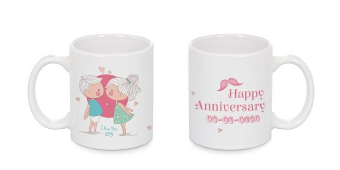 harga Mug couple design custom aniversary (tulis tanggalmu sendiri ^_^) Tokopedia.com