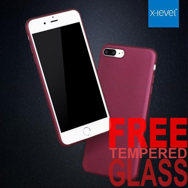 Iphone 7 Plus X-Level Guardian Matte Ultrathin TPU Rubber Soft Case
