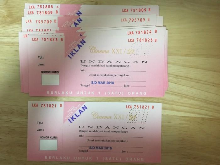 Jual Tiket Cinema Xxi Dki Jakarta Emski Stuff Tokopedia