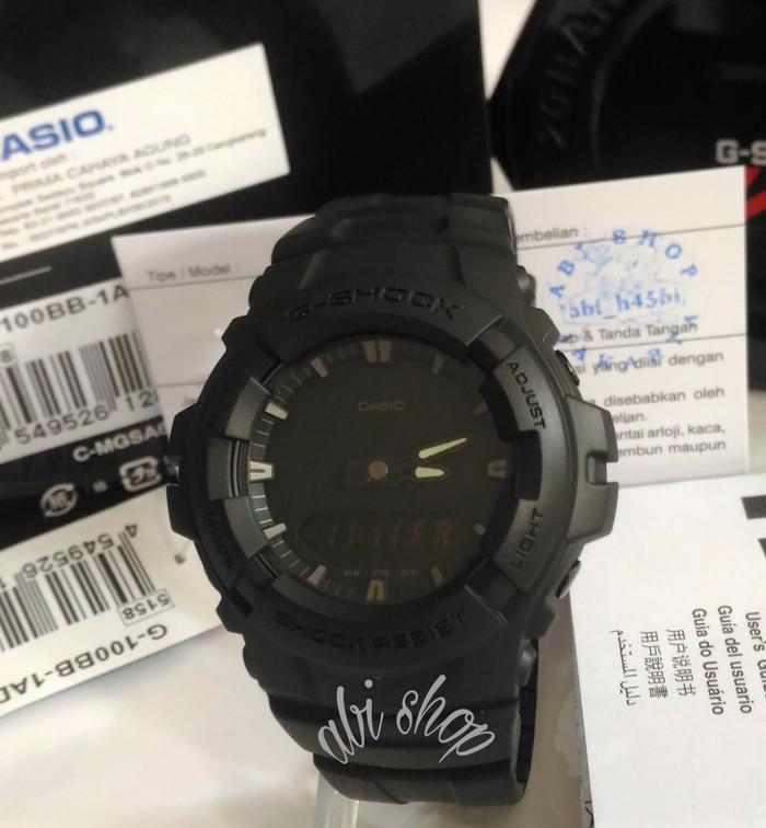 Jam Tangan Pria G Shock G100BB Original G100 / G-100BB