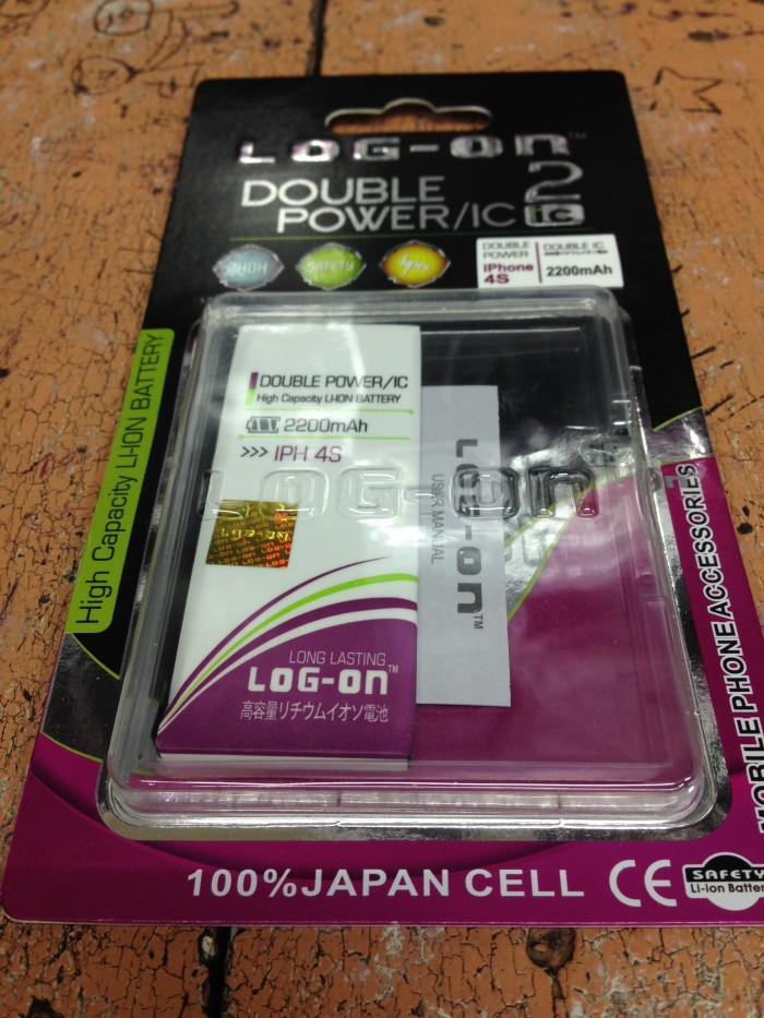 harga Baterai iphone 4s 2200mah double power log on Tokopedia.com