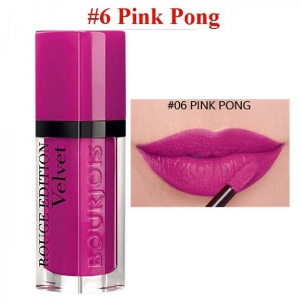 harga Bourjois rouge edition velvet 06 pink pong Tokopedia.com