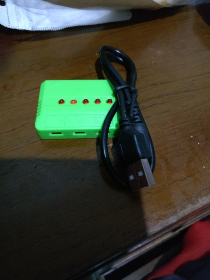 Foto Produk MultiCharger USB 5in1 for Eachine h8  dari IndoWebstorecom