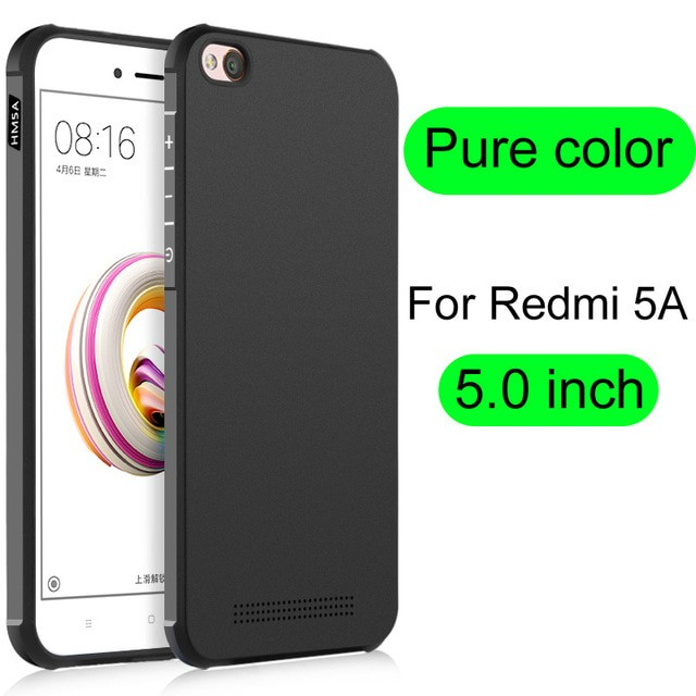 Xiaomi Redmi 5A Original Cocose Matte Polos Soft Back Case Casing
