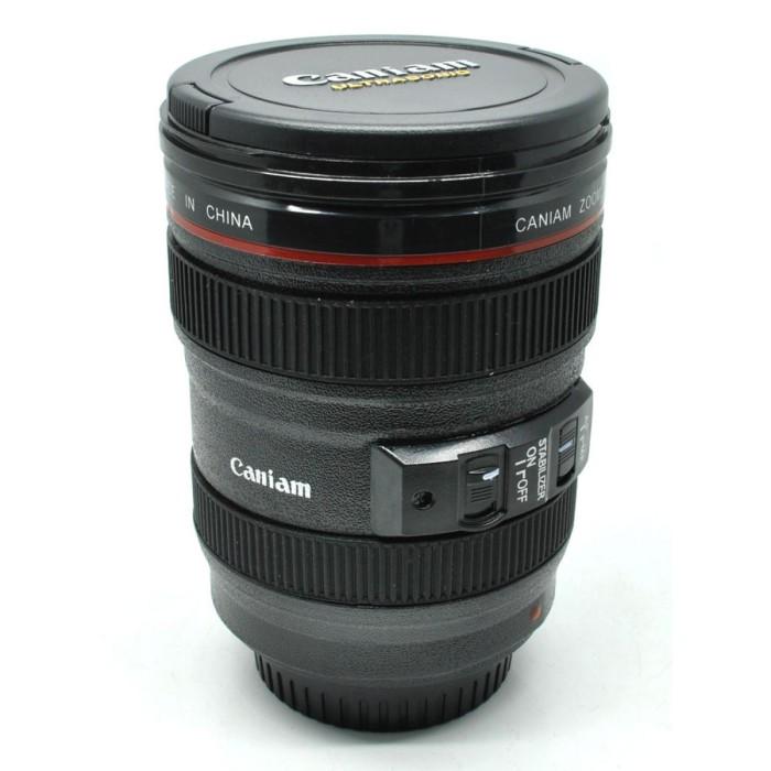 harga Gelas minum bentuk lensa kamera 24  105mm gelas kado hadiah Tokopedia.com