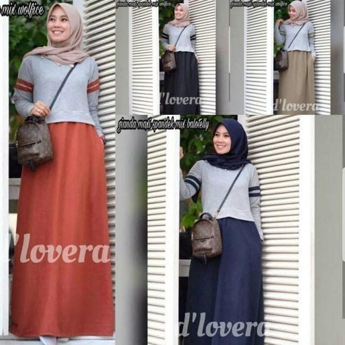 Dress Simple   Gamis sehari hari   Baju wanita murah   Gianda maxi MU. Toko  dalam status moderasi a29333e60a