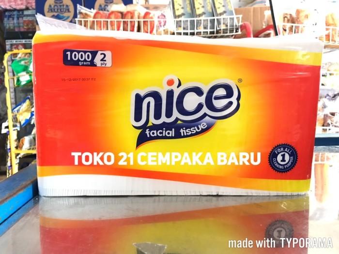 harga Nice facial tissue 1000 gram  tisu tisue nice 1000g 1000gr gr 1kg 1 kg Tokopedia.com