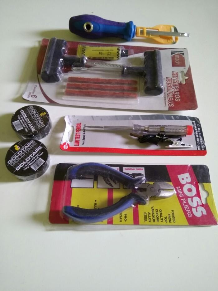 harga Obeng kombinasi / kit tubles / tang potong / tespen aki / solatip hita Tokopedia.com