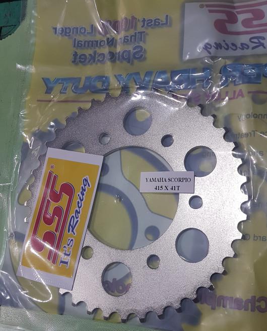 harga Gir gear belakang sss tipis 415 41 yamaha vixion scorpio Tokopedia.com