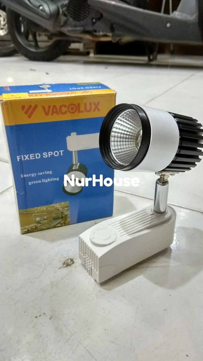 harga Lampu sorot spot led cob 10 watt putih / kuning vacolux rel Tokopedia.com