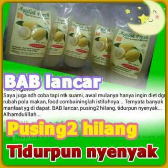Katalog Aqiilah Fresh Sari Lemon Travelbon.com