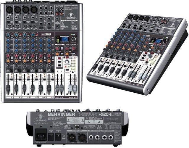 harga Behringer xenyx x1204 usb / x 1204 usb mixer Tokopedia.com