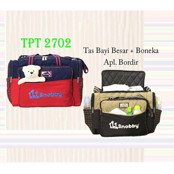 ... Snobby Tas Bayi Kecil Extra Saku Luxury Series Tpt 1873 Maroon Tas Source SNOBBY TPT2702