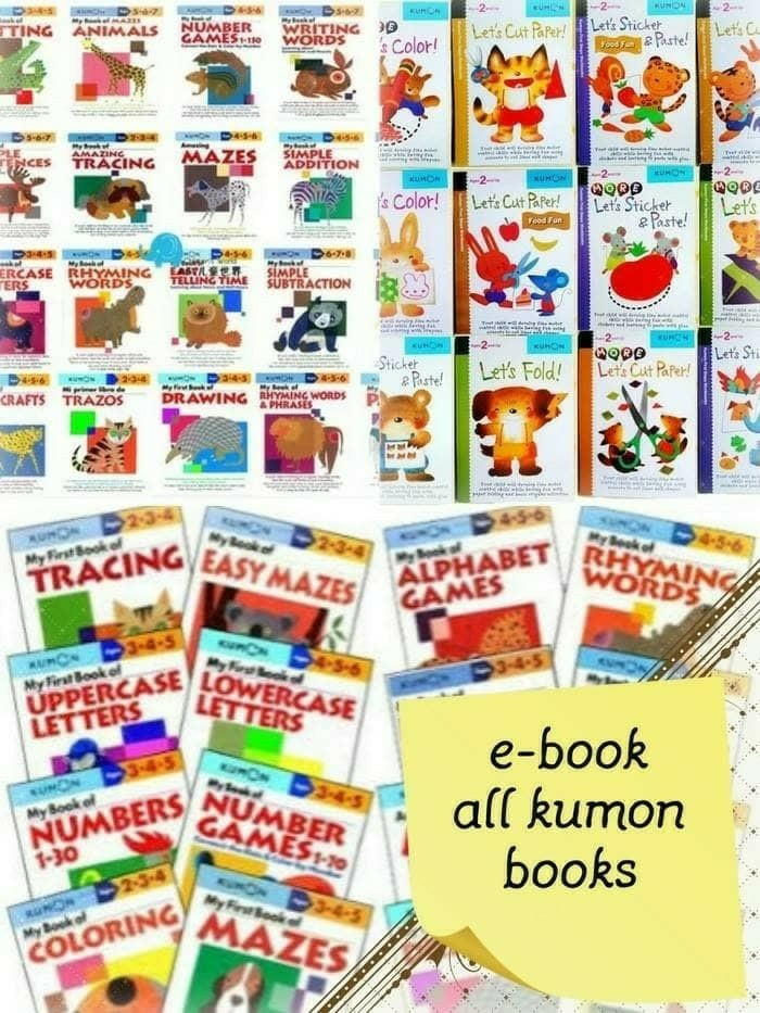 harga 100 ebook aktivitas anak terlengkap (kumon, brain quest dll) with usb Tokopedia.com