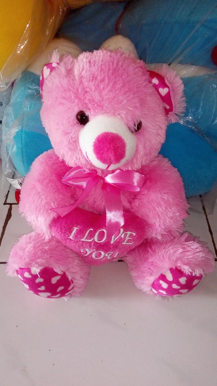 Boneka teddy bear kecil murah