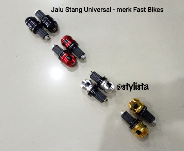 harga Jalu Stang Cnc Motif Kotak Universal Aksesoris Variasi Motor