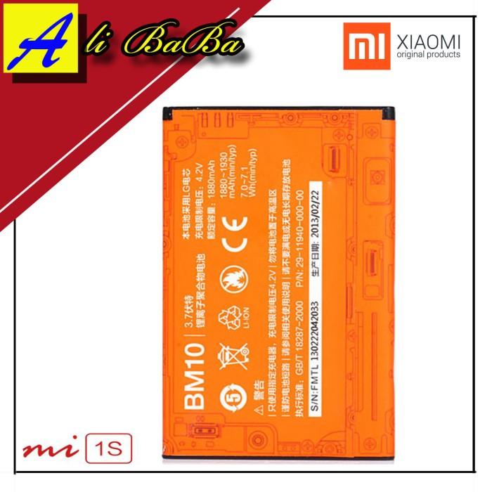 harga Baterai handphone xiaomi mi 1 mi 1s bm10 batre hp battery xiaomi mi1s Tokopedia.com