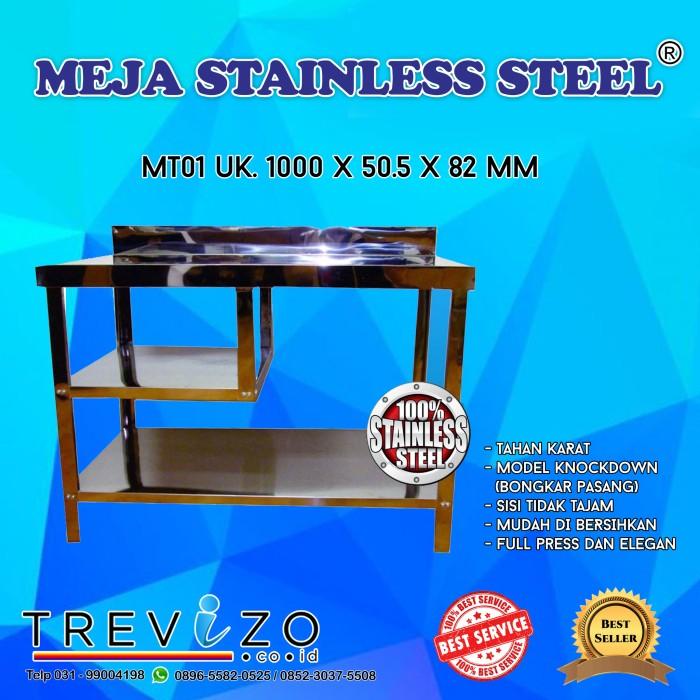 Jual Meja Serba Guna Meja Dapur Kompor Stainless Steel