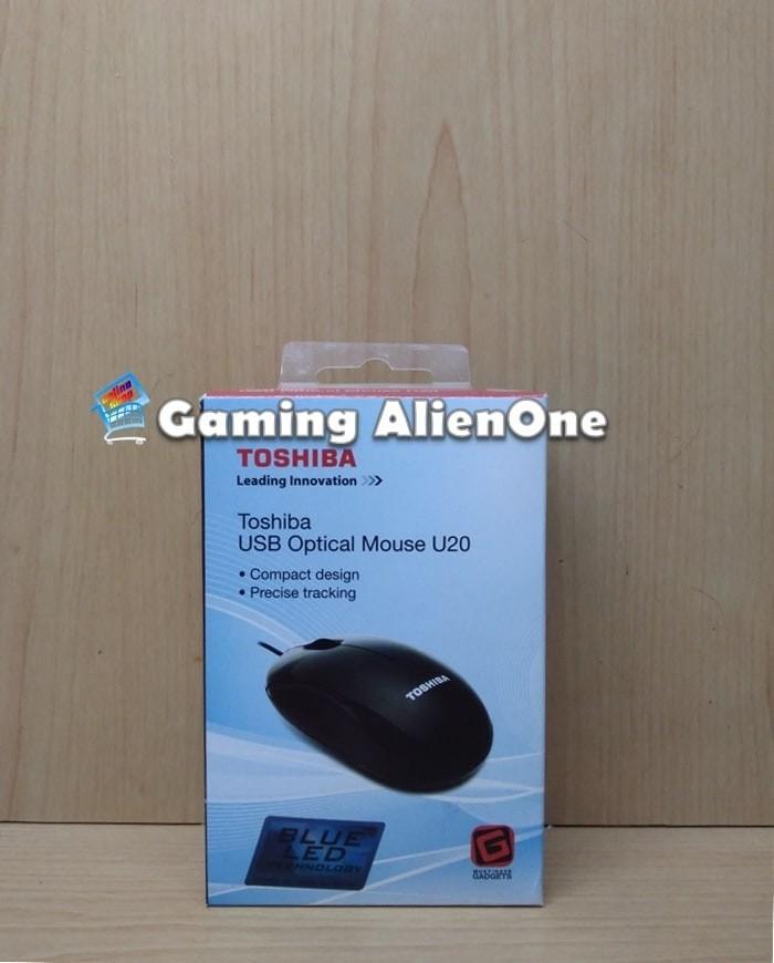 Mouse Toshiba Optical USB Mouse U20 - Mouse Kabel