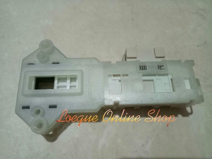 Original door lock mesin cuci front loading lg, samsung