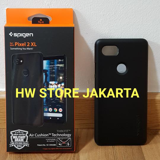 promo code 0888b 4bdb2 Jual ORIGINAL SPIGEN THIN FIT CASE GOOGLE PIXEL 2 XL - BLACK - Jakarta  Utara - HW Store Jakarta | Tokopedia