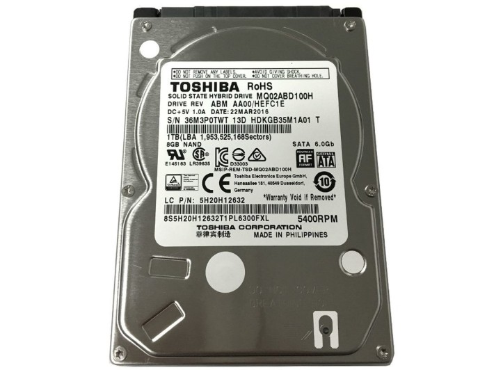 harga Hardisk hdd 2.5  internal laptop 1tb toshiba Tokopedia.com
