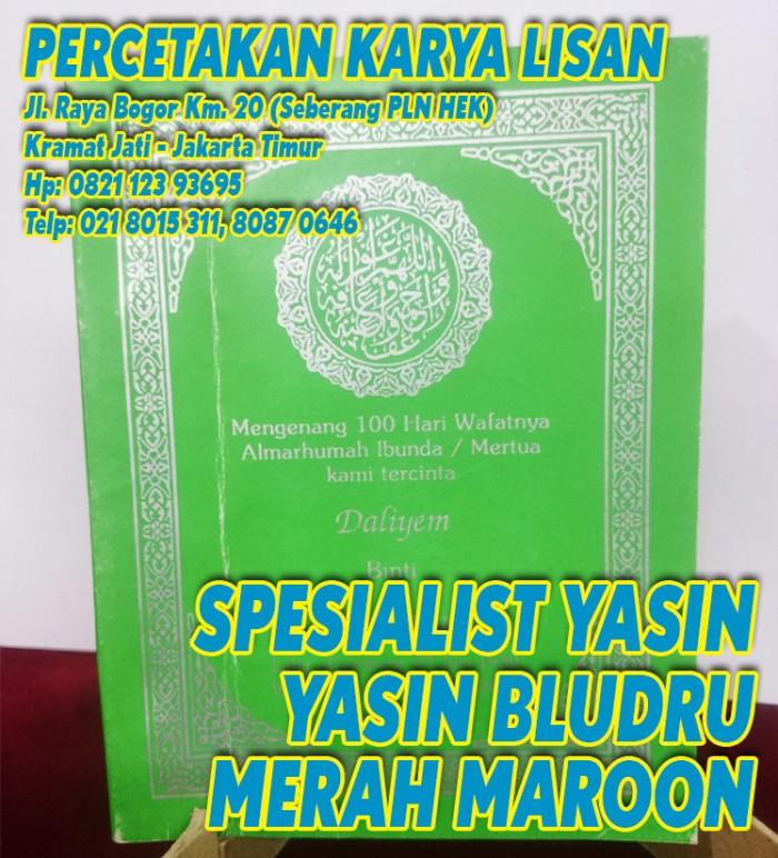Jual Buku Yasin Soft Cover Yasin Murah Bayak 50 Bk Jakarta Timur Percetakan Karya Lisan Tokopedia