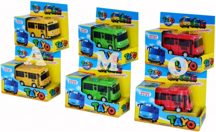 Jual Little Bus Tayo Pullback Mobil Tayo Satuan Jakarta Barat Toko Main Kids Tokopedia