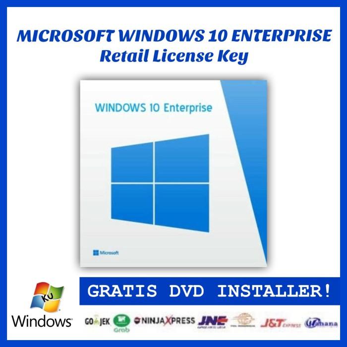 harga Windows 10 enterprise original retail license key Tokopedia.com