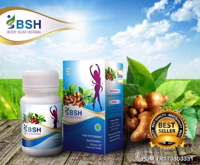 Jual BSH Body Slim Herbal Original BPOM - Pelangsing - Nin ...
