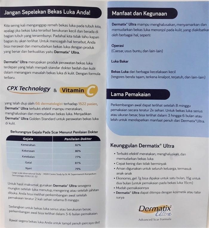 dermatix ultra advanced scar treatment obat bekas luka 7