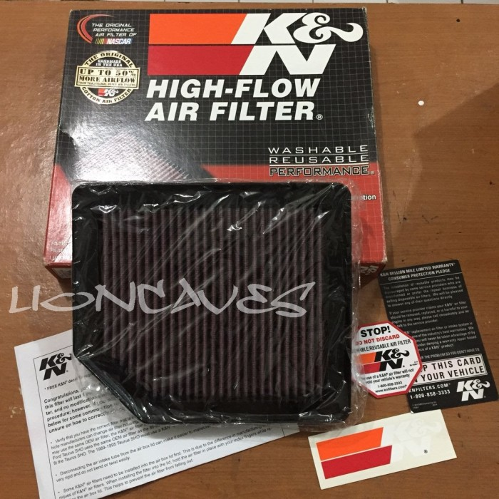 Foto Produk Original Filter Udara KNN / K&N for Honda Civic FD1 - Replacement dari lioncaves