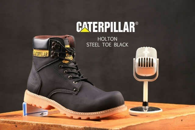 Jual SEPATU SAFETY CATERPILLAR BOOT STEEL TOE - Kab  Bandung - G-N_Shop    Tokopedia