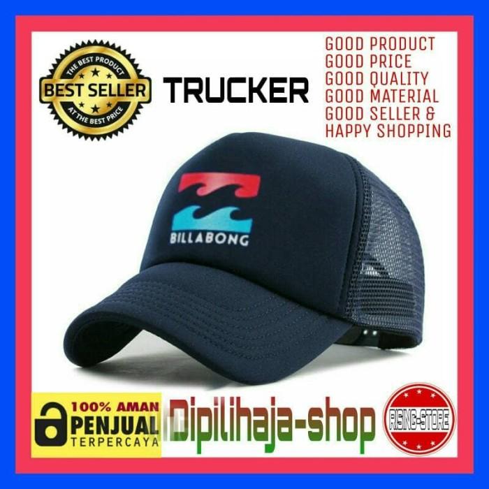harga Topi trucker jaring billabong navy #2 baseball snapback - dipilihaja Tokopedia .