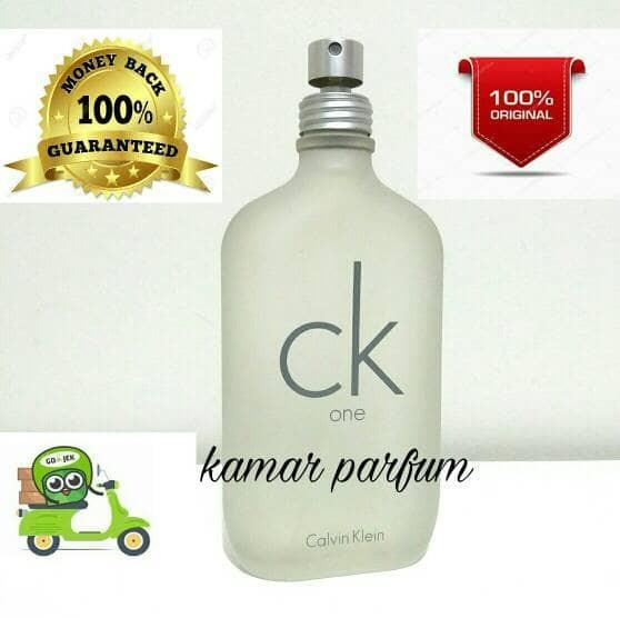 2aa9503f5 Jual Parfum Original Eropa Calvin Klein Ck one 200ml Non Box - Kab ...
