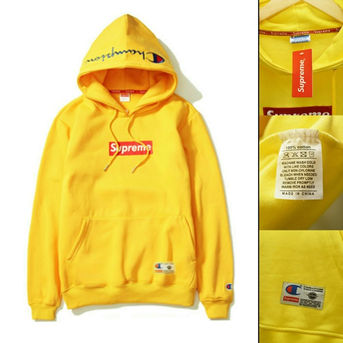 479177312033 Jual jaket supreme champion yellow   jaket hits swag   jaket jumper ...