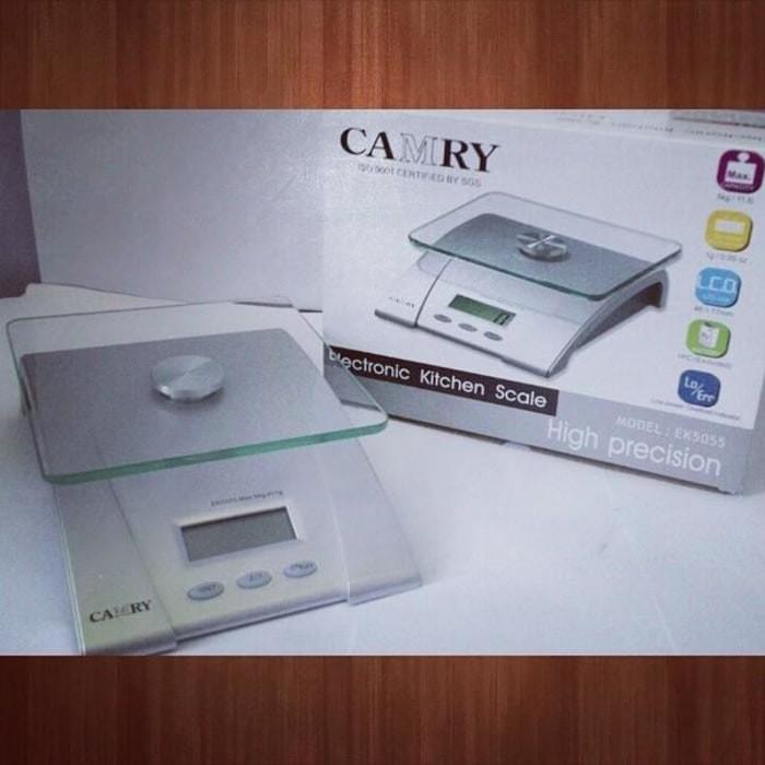 harga Camry timbangan dapur digital kue kitchen scale 5kg ek5055 5055 Tokopedia.com