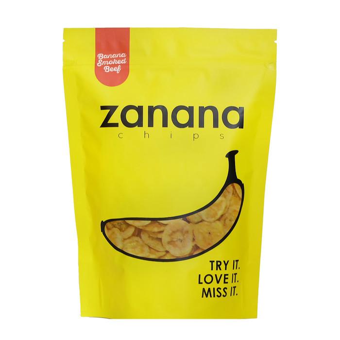 Gambar Keripik Pisang Png Jual Zanana Chips Keripik Pisang Istimewa Banana Smoked Beef