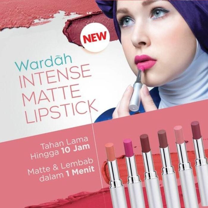 Info Lipstik Wardah Intense Matte Travelbon.com