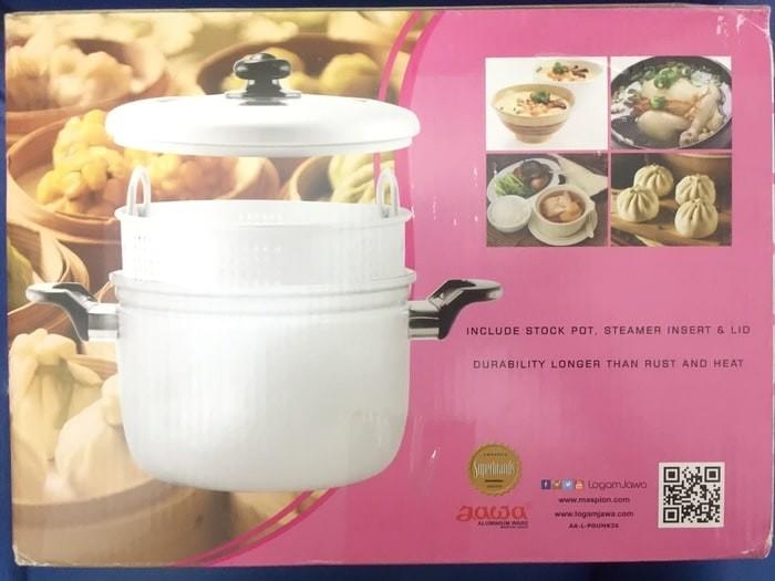 Panci kukus / steamer rice cooker maspion 33cm (panca guna)