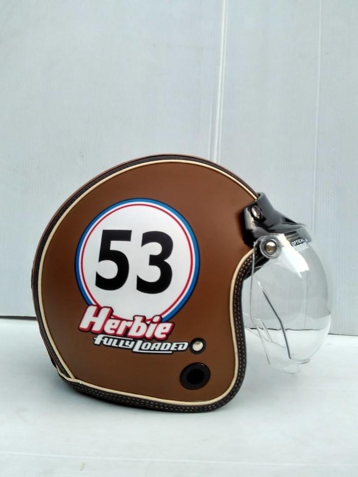 harga Helm retro motif banyak pilihan Tokopedia.com