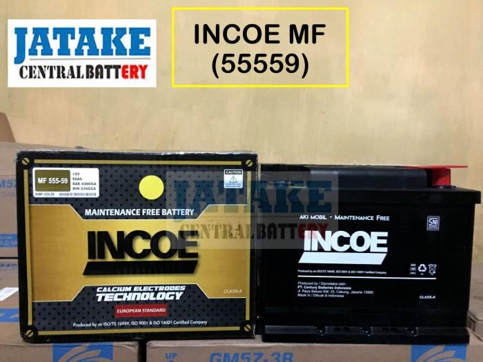 Jual Aki Kering Mobil Hyundai Verna Din 55559 Incoe Maintenance Free Mf Kota Tangerang Jatake Central Battery Tokopedia