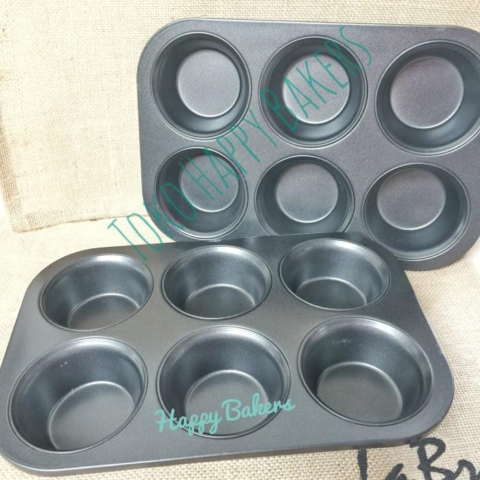 harga Loyang cupcake / loyang muffin 6pcs Tokopedia.com