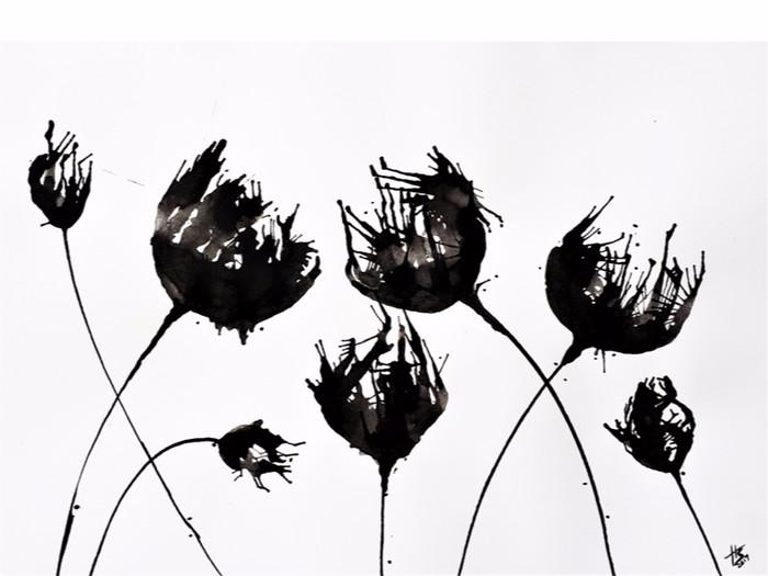 980+ Gambar Abstrak Hewan Hitam Putih Gratis