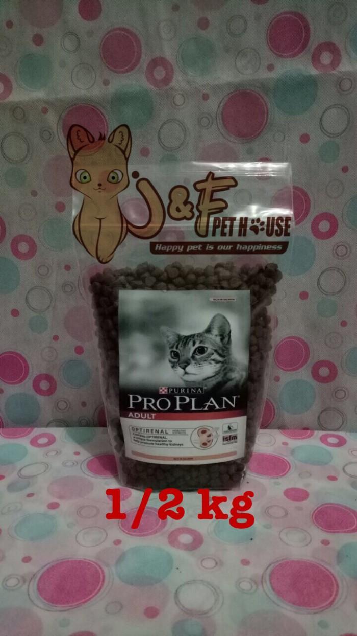Proplan Salmon Repack Cat Food 1 Kg 2 X 500g Spec Dan Daftar Harga Nice 1kg Adult