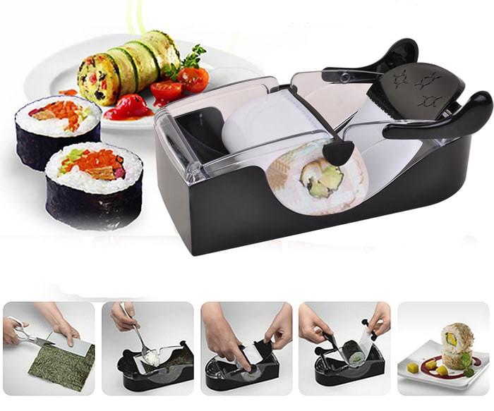 Perfect Roll Sushi Maker Alat Penggulung Sushi Japan Art Bento