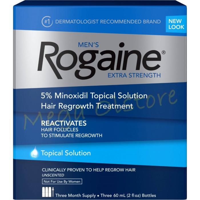 harga New look men's rogaine 5% minoxidil 60 ml - 3 botol rogaine liquid Tokopedia.com