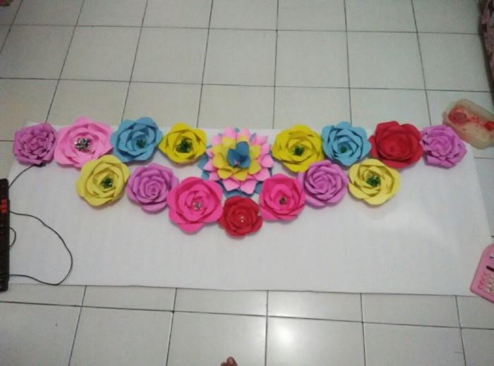 Jual Bunga Karton Untuk Dekorasi Kota Tangerang Ivni Tokopedia